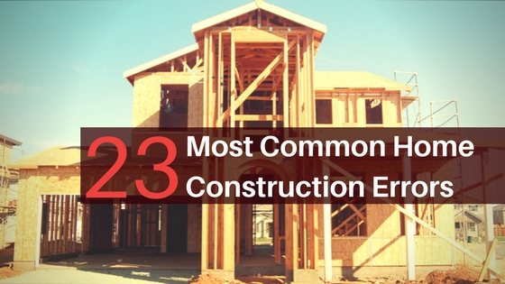 Home building presents many issues