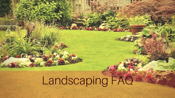 frequently asked questions for landscaping
